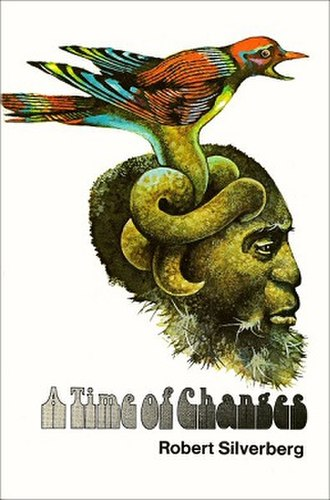 A Time of Changes - Cover of first hardcover edition