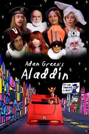 Adam Green's Aladdin - Digital release poster