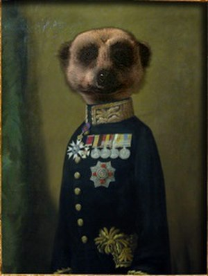 """Comparethemarket.com - The """"Aleksandr Orlov"""" meerkat character used in the company's advertising since 2009"""