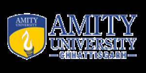 Amity University, Raipur - Image: Amity University Chhattisgarh logo