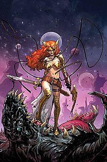 Angela (comics) fictional character in the Image and Marvel Universes