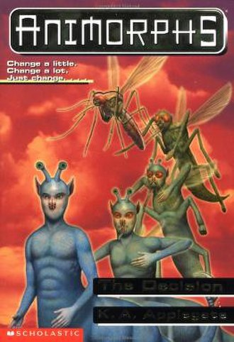 The Decision (novel) - Ax morphing into a mosquito.
