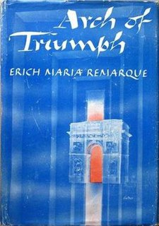 <i>Arch of Triumph</i> (novel) book