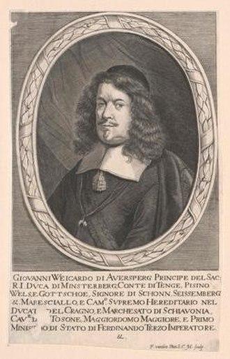 Johann Weikhard of Auersperg - Image: Auersperg, Johann Weikhard Fürst von