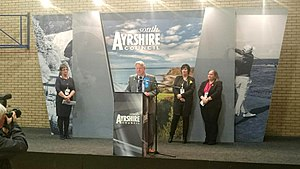 Ayr, Carrick and Cumnock (UK Parliament constituency) - 2017 declaration