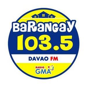 DXRV - Image: Barangay 103.5 Davao logo