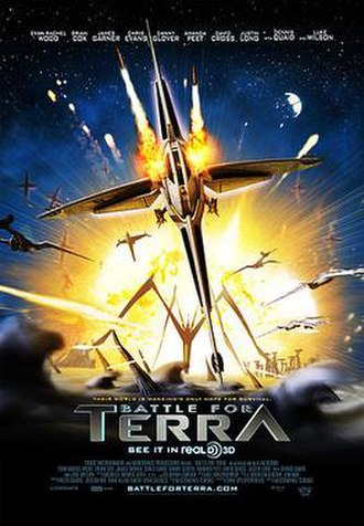 Battle for Terra - Theatrical release poster