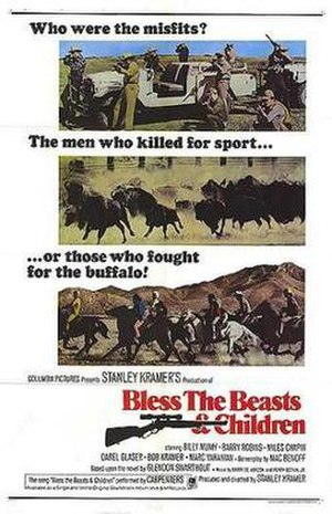 Bless the Beasts and Children (film) - Bless the Beasts and Children movie poster