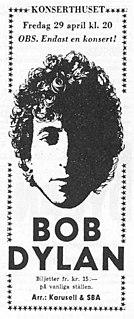 Bob Dylan World Tour 1966