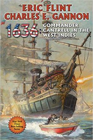 1636: Commander Cantrell in the West Indies - Image: Book cover 1636 Commander Cantrell in the West Indies