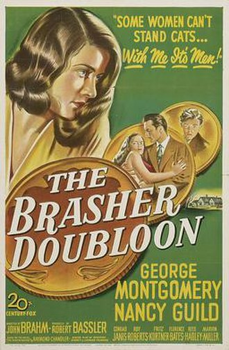 The Brasher Doubloon - Theatrical release poster