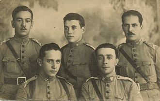 Brazilian Army - Brazilian Army officers, World War I.