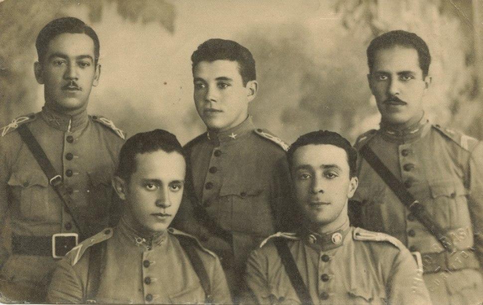Brazilian Soldiers First War