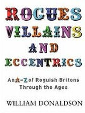 Brewer's Rogues, Villains and Eccentrics - The paperback cover