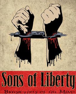 <i>Brush-fires of the Mind</i> 2009 studio album by Sons of Liberty