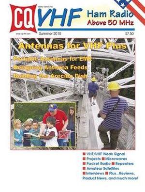 CQ VHF Magazine - Summer 2010 Issue