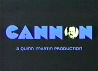 Cannon (TV series) - Image: Cannon Title Screen