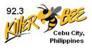 DYBN - Former Killerbee 92.3 Cebu logo from 1992 to March 27, 2013.