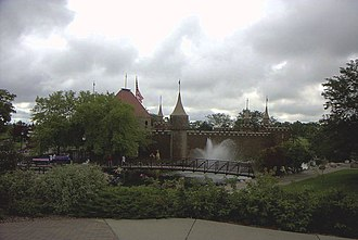 Aberdeen, South Dakota - Storybook Land castle