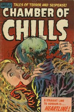 Chamber of Chills - Cover, issue 23
