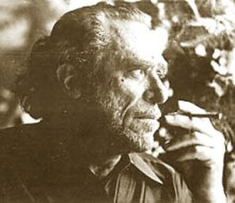 Charles Bukowski - Image: Charles Bukowski smoking