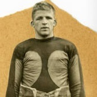 Charlie Barbour - Barbour in football uniform c. 1923