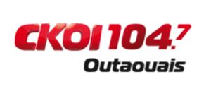 "CKOF-FM - Logo as ""CKOI 104.7"", 2011-2012"