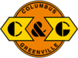 Columbus and Greenville Railway - Image: Columbus and Greenville Railway logo