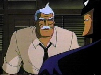 James Gordon (comics) - Commissioner Gordon in Batman: The Animated Series