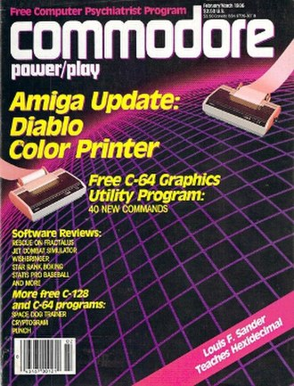 Commodore Power/Play - February/March 1986 issue
