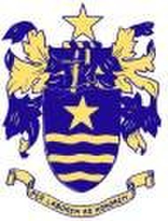 St John's College, Portsmouth - Image: Crest of st johns