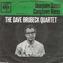 Dave Brubeck Quartet-Unsquare Dance single.jpg