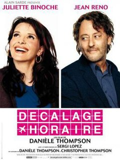 <i>Jet Lag</i> (film) 2002 French film