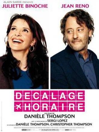 Jet Lag (film) - French film poster