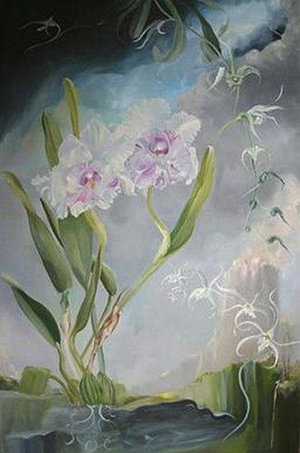 Doris Downes - Doris Downes, The Path to Dinorah, Oil on Linen, 2010.