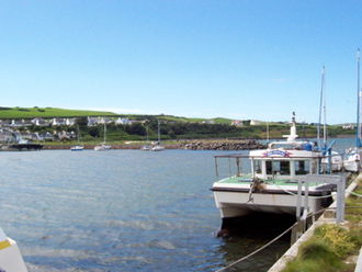 Drummore - Drummore Harbour, July 2008