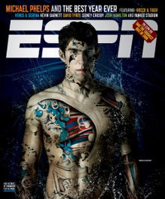 ESPN The Magazine - Image: ESPN magazine cover Michael Phelps