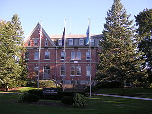 Elizabethtown College - Alpha Hall at Elizabethtown College (2005)
