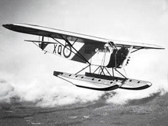 "Fairchild FC-2 - RCAF FC-2L ""Razorback"""