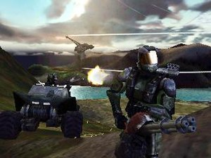 Halo: Combat Evolved - The first official screenshot of Halo.