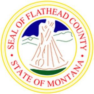 Flathead County, Montana - Image: Flathead County mt seal