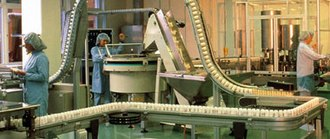 Chain conveyor - Image: Flexible chain conveyor