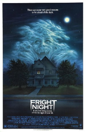 Fright Night - Theatrical release poster