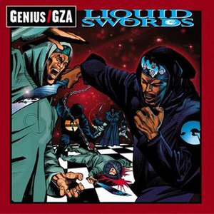 Liquid Swords - Image: GZA Liquid Swords