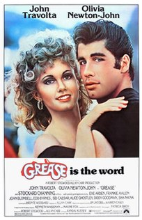 <i>Grease</i> (film) 1978 romantic musical film directed by Randal Kleiser
