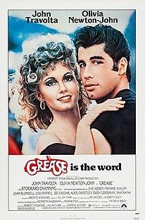 <i>Grease</i> (film) 1978 romantic musical film directed by Randal Kleiser