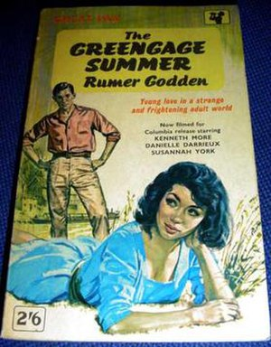 Rumer Godden - The Greengage Summer (1958), 1962 Pan paperback edition