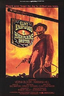 <i>High Plains Drifter</i> 1973 film by Clint Eastwood
