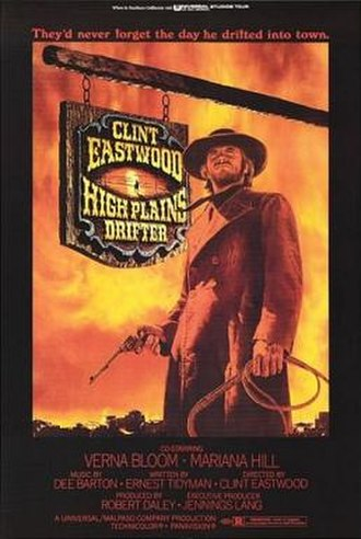 High Plains Drifter - Theatrical release poster