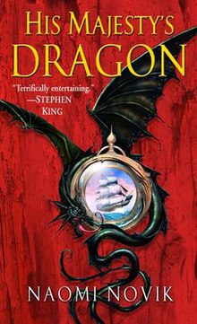 Image result for His Majesty's Dragon by Naomi Novik